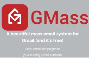 GMass chrome extension with mail merge and email tracking