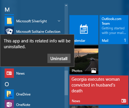 How to uninstall built-in apps from Windows 10