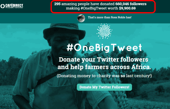 One Big Tweet- Homepage