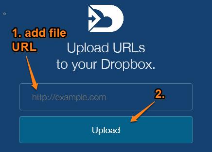 add file URL to upload