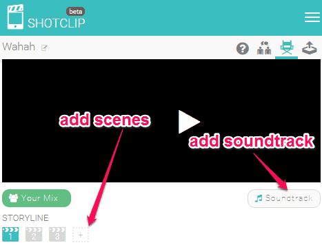 add scenes