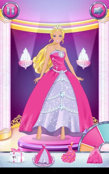 barbie dress upp apps android 1