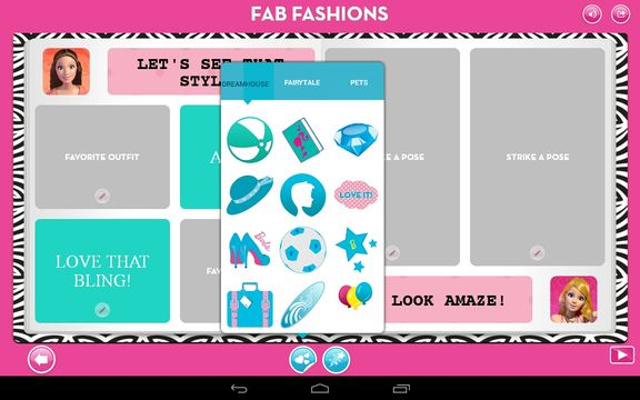 barbie dress upp apps android 4