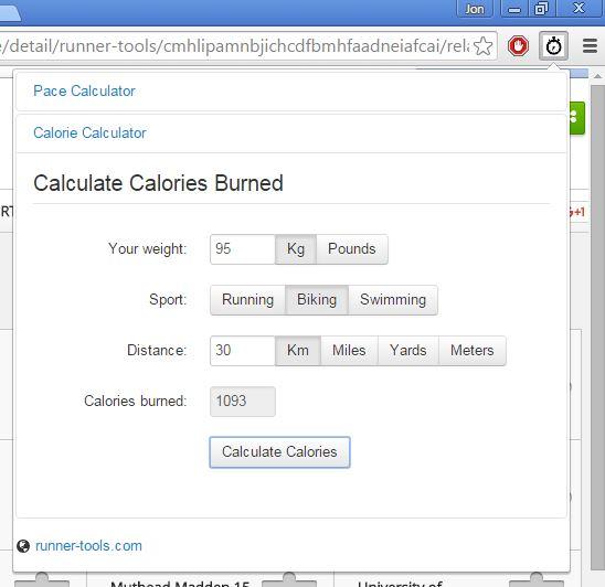 calorie calculator extensions chrome 4