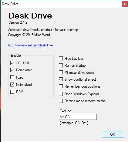 configure settings