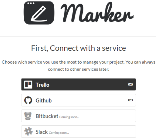 connect your Trello and GitHub accounts