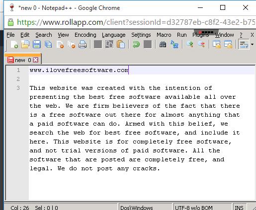 desktop software running on the cloud