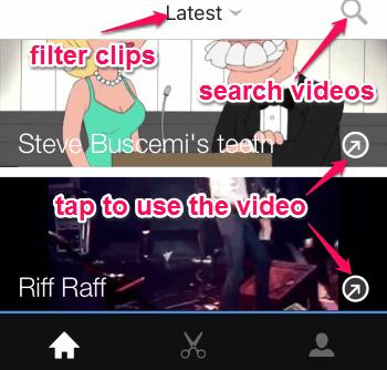 discover videos