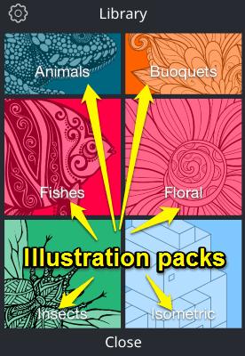 illustration packs