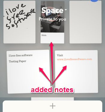 multiple notes