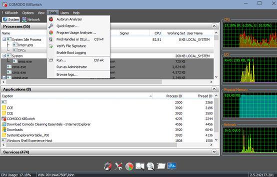 process explorer software windows 10 4