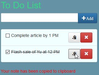 to do list copy task