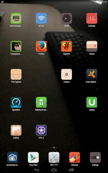 transparent screen apps android 1