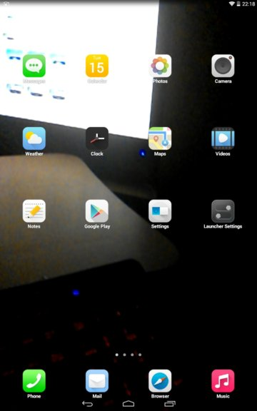 transparent screen apps android 3