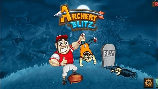Archery Blitz main menu