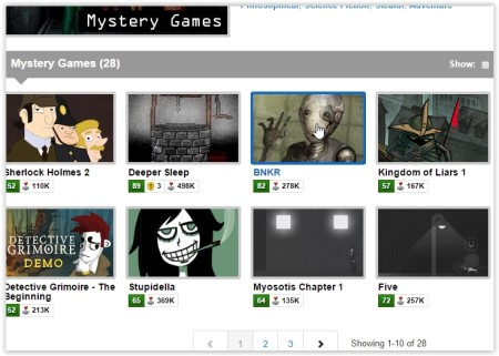 play mystery games online