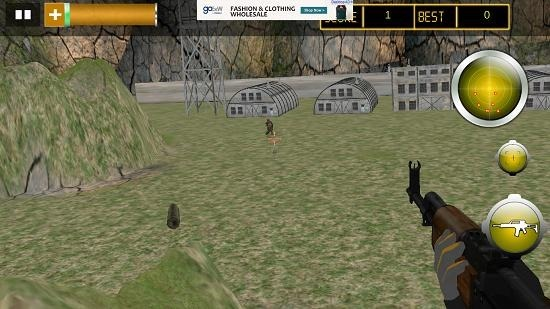 Army Gunship Attack Adventure gameplay