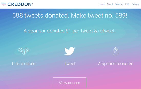 Creddon- homepage