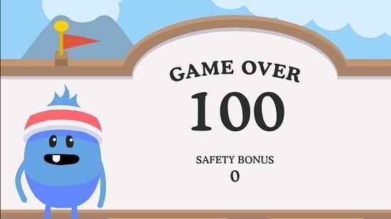 Dumb Ways To Die 2 Game over