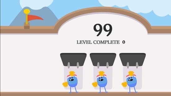 Dumb Ways To Die 2 level complete