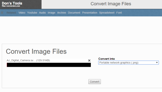 Files-conversion.com website