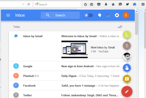 Firefox add-on to access Inbox in a pop-up