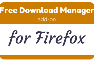 Free Download Manager Firefox add-on