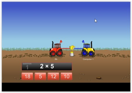 play multiplication games
