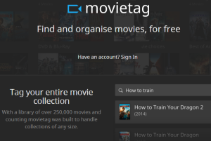 Movietag- find and organize movies