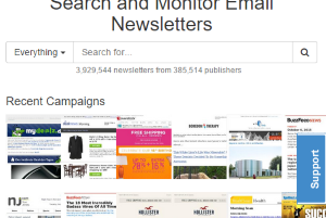 Notablist- search and monitor email newsletters