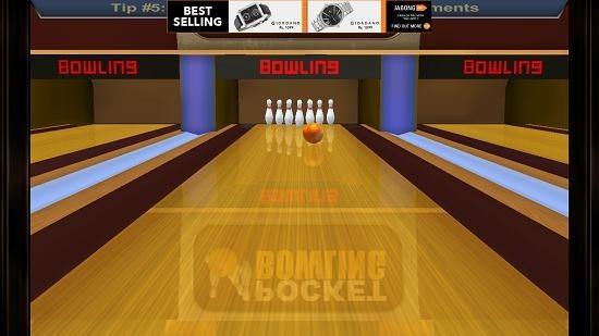 Pocket Bowling 3D gameplay