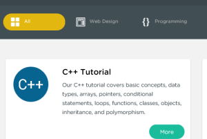 SoloLearn- website to learn programming, web designing, database