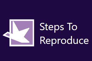 Steps To Reproduce- free screen capture software