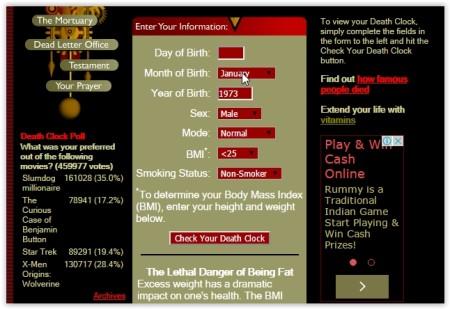 calculate death date online