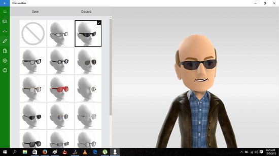 Xbox Avatars avatar shades