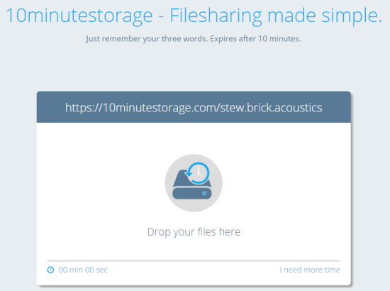 add files to your storage room