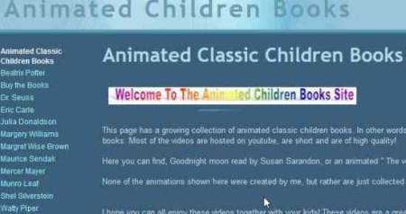 animated children books home
