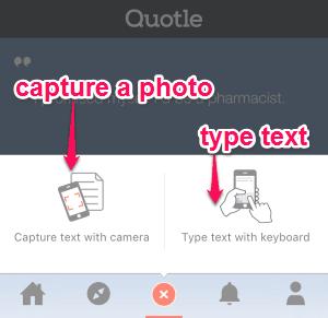 captue text