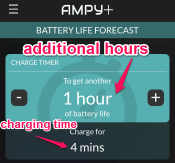 charge timer