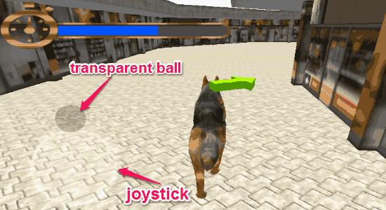control dog