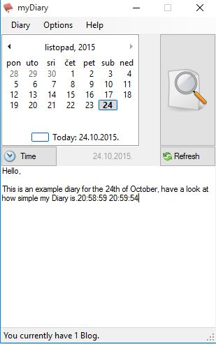 diary software windows 10 2