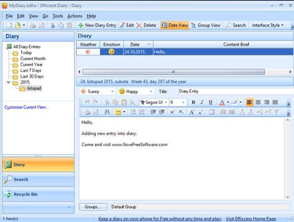 diary software windows 10 4