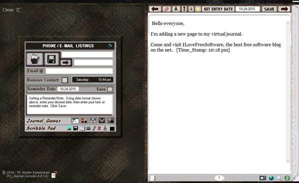 diary software windows 10 5
