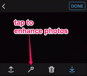 enhance photos