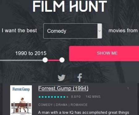 film hunt search