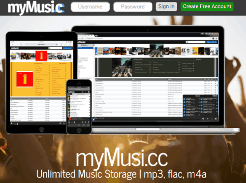 Unlimited Music Storage, Play Music Online from any Device