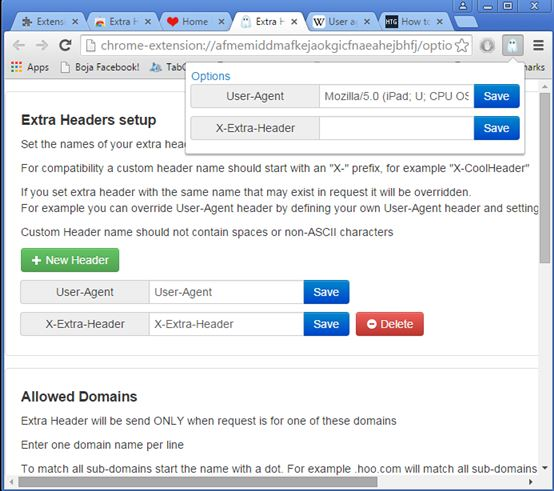 http header modifier extensions chrome 5