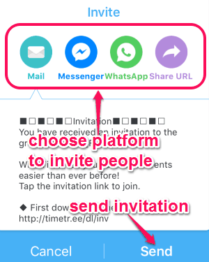 invite others