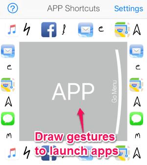 launch apps