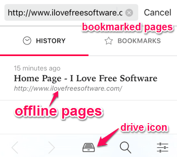 offline pages